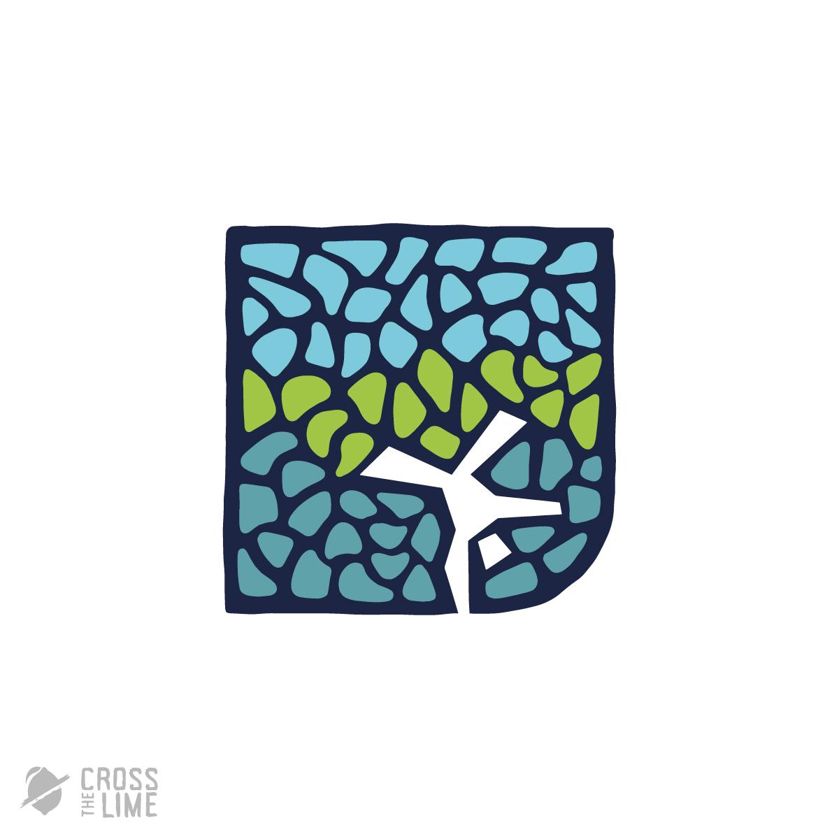 Mosaic handstand logo