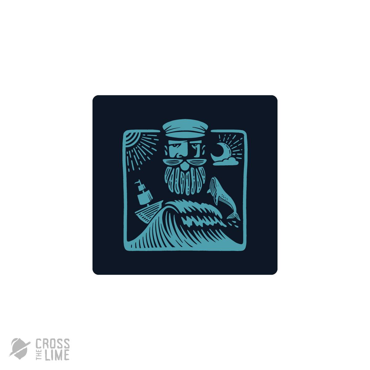 Sailor stamp logo